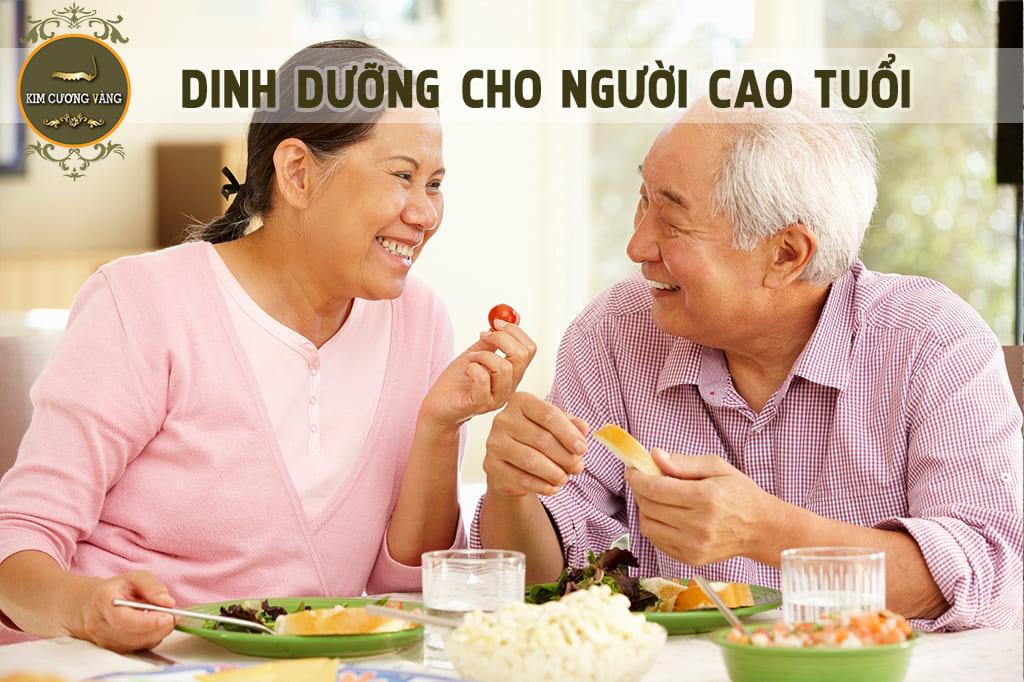 Bí quyết ăn uống tăng cường đề kháng cho người cao tuổi|Đông trùng hạ thảo kim cương  vàng