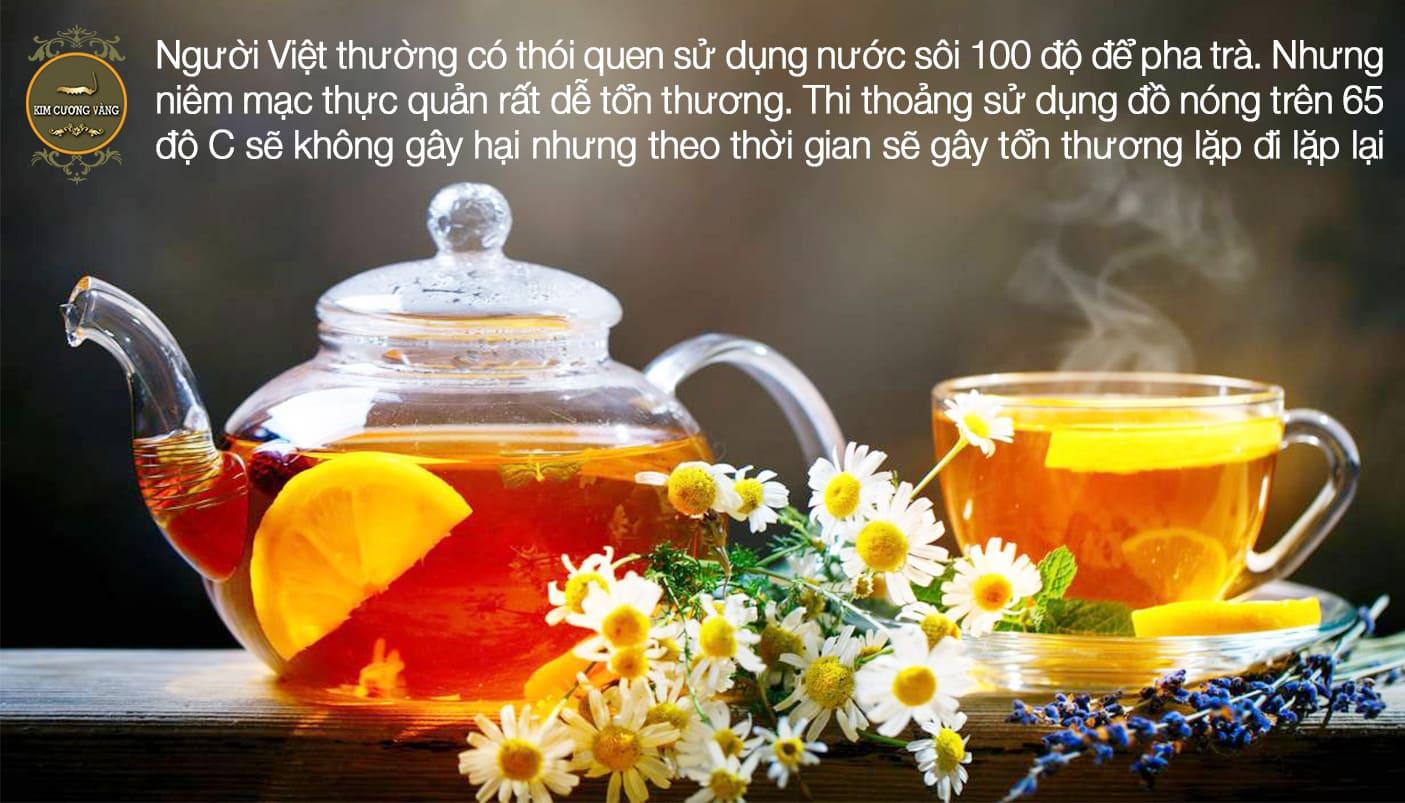 Cách uống trà gây hại thận và hại dạ dày nhiều người mắc phải mà không biết