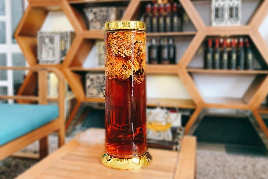 Rượu Đông Trùng Hạ Thảo|Rượu Đông Trùng Hạ Thảo loại lớn