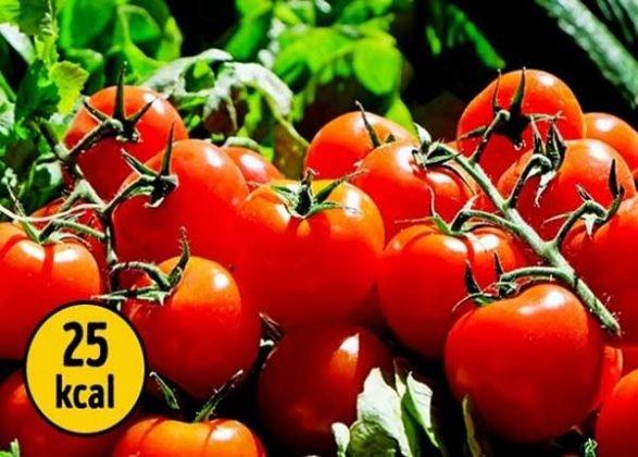 ca chua thức ăn không sợ tăng cân