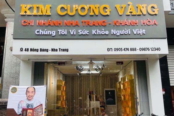 Thông báo khai trương Đại Lý Kim Cương Vàng Nha Trang